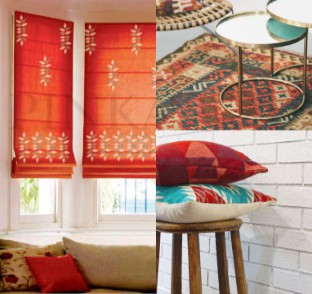 Blinds, Rugs & Cushion covers