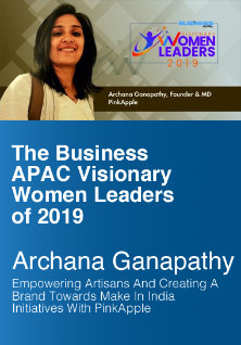 The Business APAC Visionary Leader of 2019