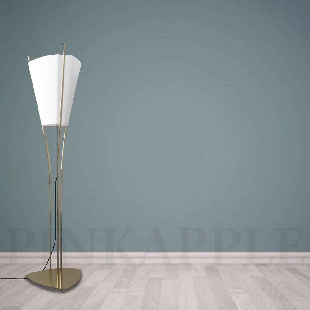 White lily Floor Lamp